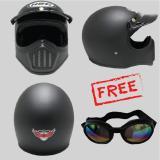 Beli Hbc Helm Cakil Polos Black Doff Kacamata Hbc Dengan Harga Terjangkau