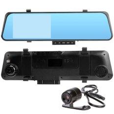 Harga Hd 4 3 1080 P 170 ᄚ Lebar Lensa Ganda Kamera Dasbor Mobil G Sensor Kaca Spion Dvr Di With Malam Flash Internasional Dan Spesifikasinya