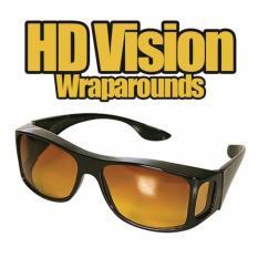 HD Vision Kacamata Berkendara Anti Silau Siang & Malam - 1 Kotak Isi 2pcs