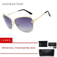 Hdcrafter 2017 Star Mewah Bergaya Wanita Sunglasses Elegan Wanita Polarized Lens Brand Desain Berjemur Kacamata Dengan Case Grosir E016 Tiongkok Diskon 50