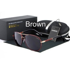 HDCRAFTER High Quality Fashion Men's Driving Sunglasses 100% Polarized Aluminum Alloy Frame Glasses Eyewear Accessories &nbs - intl
