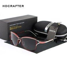 Jual Hdcrafter Populer Hot Sell Mewah Wanita Polarized Sunglasses Untuk Anak Perempuan Dan Wanita Merah Intl Tidak Ditentukan Transparan Fancy Outdoor Branded