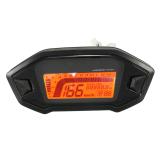 Beli Hdl Speedometer Odometer Sepeda Motor Universal Pengukur Takometer Digital Lcd Lampu Latar Dengan Kartu Kredit