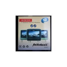 Headrest 7 Dvd Player / Usb / Sd Card / Bantalan Mobil / Tv