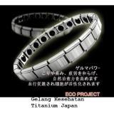 Perbandingan Harga Health Magic Gelang Kesehatan Pria Wanita Titanium Jepang Health Bracelet Silver Gw150 Di Indonesia
