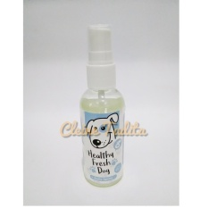 Healthy Fresh Dog - White Winter Pet Cologne By Cleine Tadita Petshop.