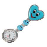 Spesifikasi Heart Smile Doctor Nurse Clip On Fob Brooch Blue Pocket Watch Murah