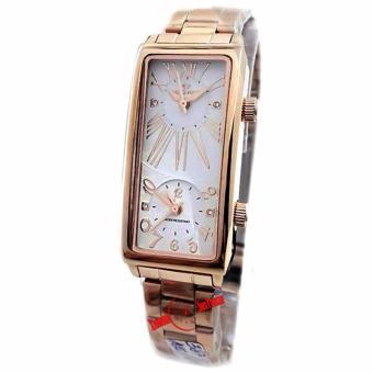 Hegner - H 387L - Jam Tangan Wanita - Stainless Steel - Rose Gold