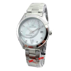 Hegner H1267L Jam Tangan Wanita Stainless Steel Silver Murah