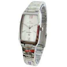 Beli Hegner H1286L Jam Tangan Wanita Stainless Steel Silver Nyicil