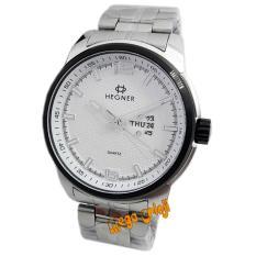 Toko Hegner H5012M Jam Tangan Pria Stainless Steel Silver List Hitam Hegner Dki Jakarta