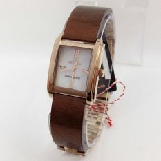 Hegner Hgr1616 Jam Tangan Fashion Wanita Ceramic Strap Rose Gold Brown Diskon Akhir Tahun