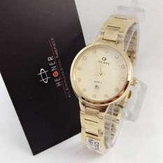 Harga Hegner Hgr5002 Jam Tangan Fashion Wanita Stainless Strap Gold Hegner Online