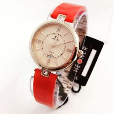 Cara Beli Hegner Hgr5005 Red Jam Tangan Fashion Wanita Ceramic Strap