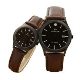 Toko Hegner Jam Tangan Couple Serries Dark Brown Hg 317 Db Hegner Online