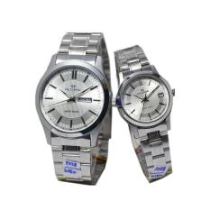 Jual Hegner Jam Tangan Couple Silver Strap Stainless Hg 323 C Online