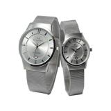 Spesifikasi Hegner Jam Tangan Couple Silver Strap Stainless Pasir Hg 321 B Merk Hegner
