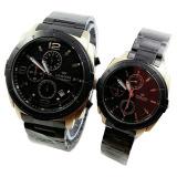 Jual Hegner Jam Tangan Couple Stainless Steel Black Hg 391 Black Gold Murah Di Dki Jakarta