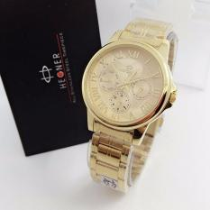 Beli Hegner Original Hgr400 Jam Tangan Fashion Wanita Stainless Steel Gold Indonesia