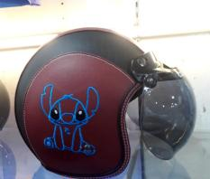 Helem Bogo Murah Full Kulit Karakter Stitch