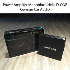 Helix D One 1-Channel Class D Power Amplifier with 1 Ohm Stability German Car Audio