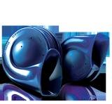 Jual Hella Klakson Twin Tone Biru Branded