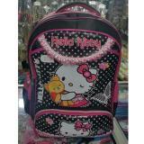 Harga Hello Kitty 4 Kantung Import Tas Ransel Anak Sekolah Sd Black Pink Prada Seken