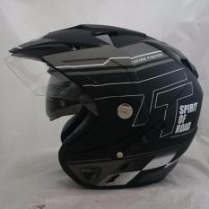 Beli Helm 2 Kaca Dmn R 9 Black Doff Abu Online Dki Jakarta