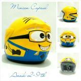 Jual Helm Anak 2 9 Th Sni Ntc Minion Capsul Kuning Satu Set