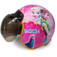 Helm Anak Bogo Usia 7 - 10 Tahun Motif Pilot Frozen