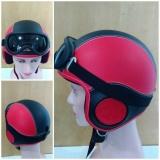 Promo Helm Anak Retro Kacamata Merah Hitam Usia 2 6 Tahun Jawa Timur