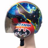 Jual Helm Anak Retro Standar Karakter Batman Murah Di Jawa Timur