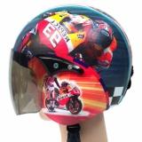 Harga Helm Anak Retro Standar Karakter Marquest Jbx Helmets Terbaik