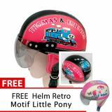 Beli Helm Anak Unyu Unyu Usia 1 5 Tahun Motif Thomas Merah Hitam Free Motif Litle Pony Cicilan