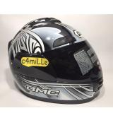 Harga Helm Bmc Jazz Motif 15 Graphite Met Full Face