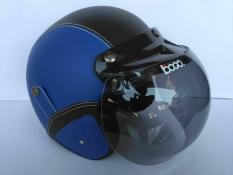Helm bogo dewasa biru-hitam