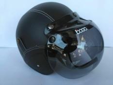Helm bogo dewasa hitam polos