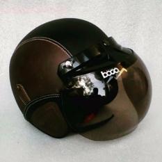 Harga Helm Bogo Dewasa Standar Sni Hitam Coklat Helm Retro Original