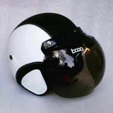 Review Helm Bogo Dewasa Standar Sni Hitam Putih Riau Islands