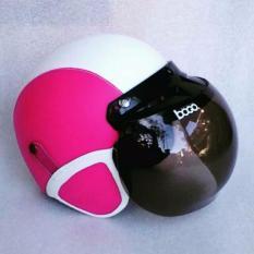 Beli Helm Bogo Dewasa Standar Sni Putih Pink Online Murah