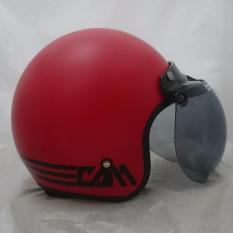 Jual Beli Helm Bogo List Red F