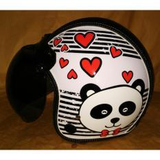 Spek Helm Bogo Motif Panda Indonesia