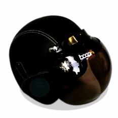 Diskon Produk Helm Bogo Retro Classic Kaca Bogo Original Dewasa Hitam Polos