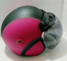 Perbandingan Harga Helm Bogo Retro Klasik Pink Hitam Kaca Bogo Original Di Indonesia