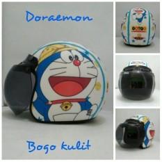 Harga Helm Bogo Retro Sni Kulit Dewasa Motif Doraemon Safari Termahal