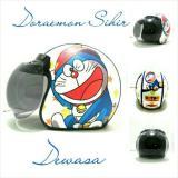 Spesifikasi Helm Bogo Retro Sni Kulit Dewasa Motif Doraemon Sihir Yg Baik