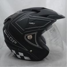 Toko Helm Double Visor Dmn Motogp Black Doff Abu Yang Bisa Kredit