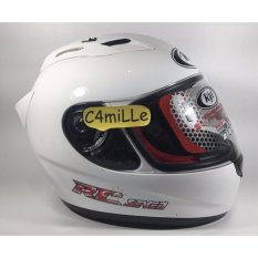 Helm Full Face KYT RC 7 / RC7 White / putih