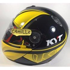 Helm Full Face KYT X rocket / xrocket #2 black yellow crymson