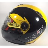 Helm Full Face Kyt X Rocket Xrocket Black Yellow Kyt Diskon 40